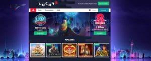 lucky8 casino accueil